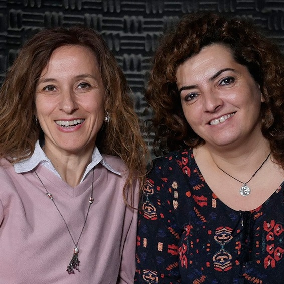 Müge İplikçi & Nazan Haydari